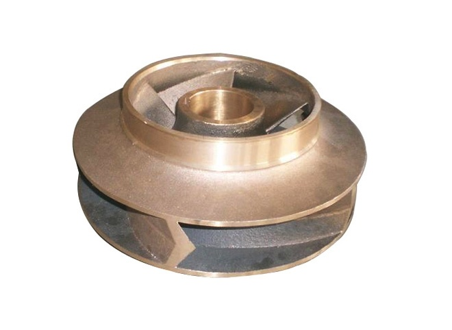 Copper impeller casting
